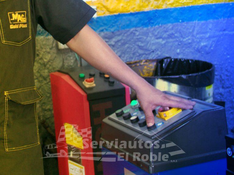 Serviautos El Roble Cartagena - Alineación